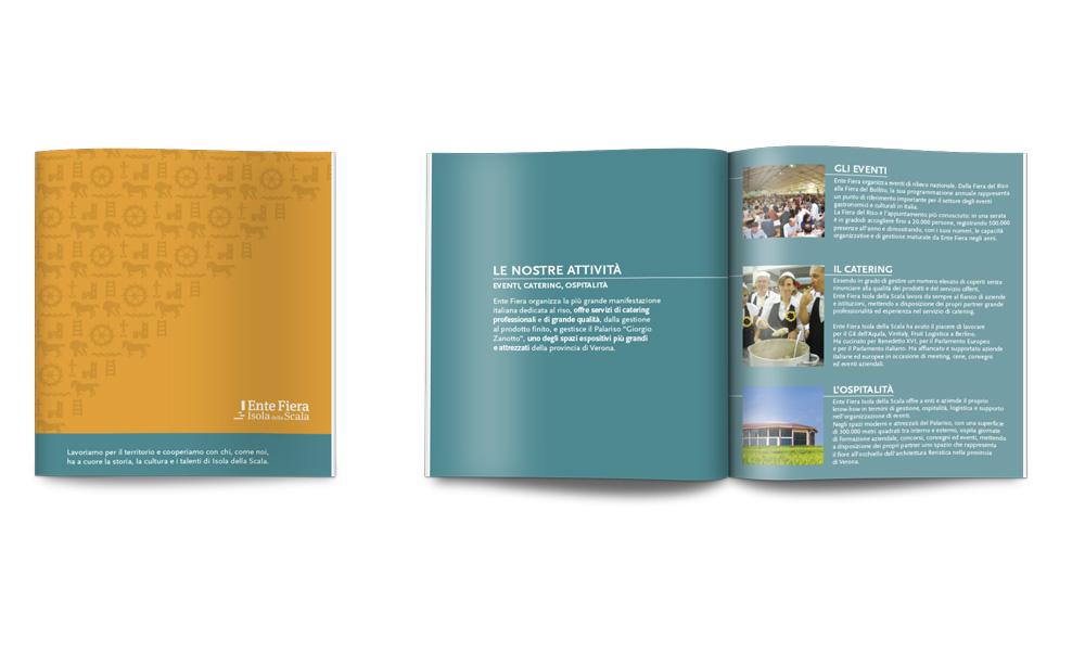 Company profile progettato per Ente Fiera Isola della Scala