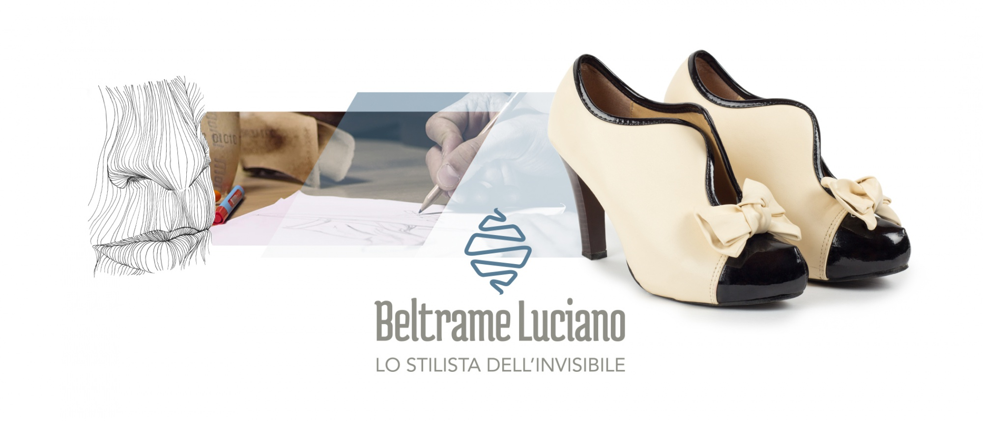 Tavola di stile per la creazione del marchio aziendale Beltrame Luciano