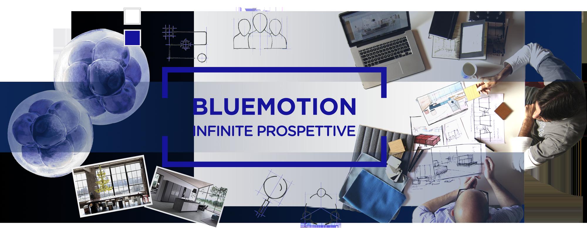 Restyling del marchio e progettazione dell'immagine aziendale per Bluemotion