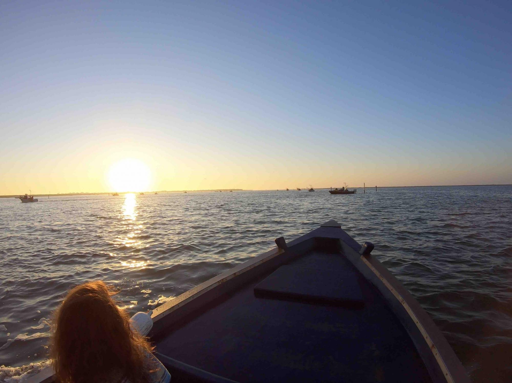 Per immergersi nella marca è servito pescare insieme alle famiglie di Scardovari