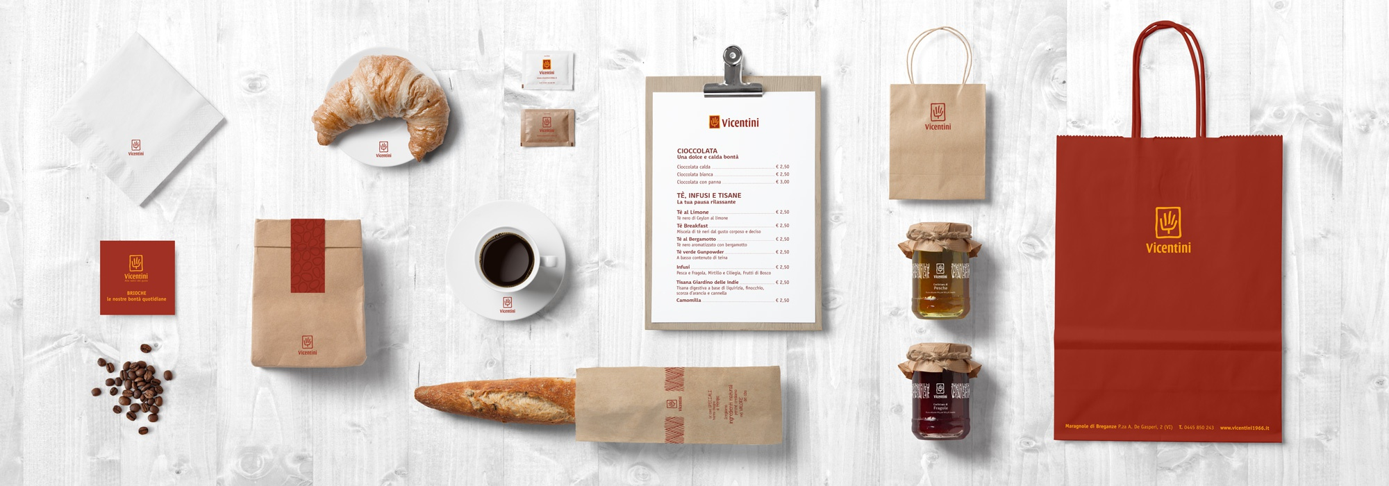 Brand Identity - Product - Packaging - Vicentini