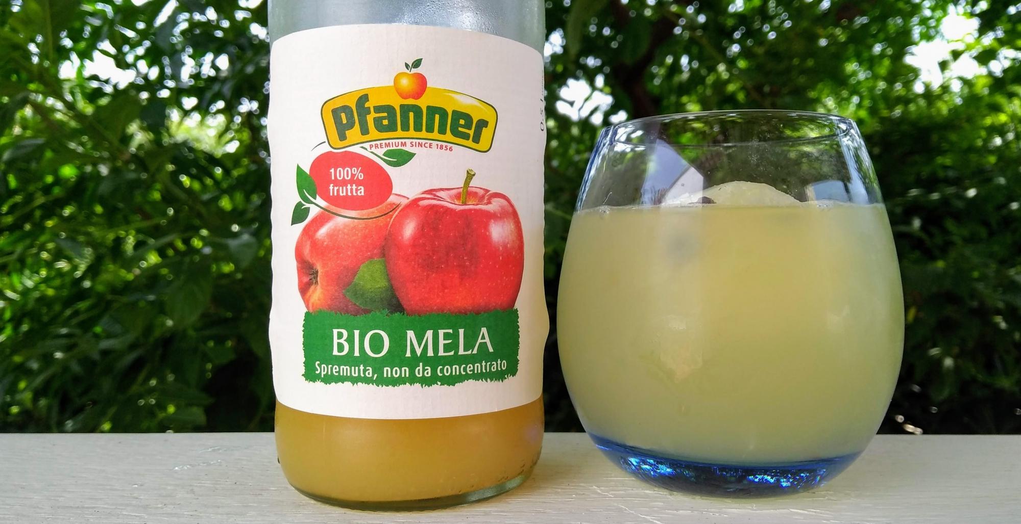 Esempio USP di Pfanner succo Bio Mela