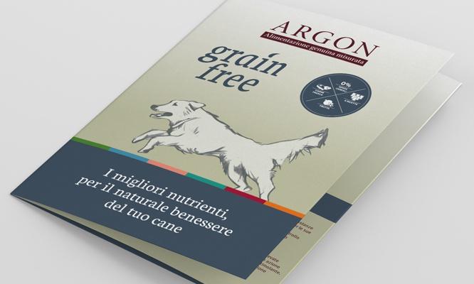 Brochure per la linea Argon Grain Free