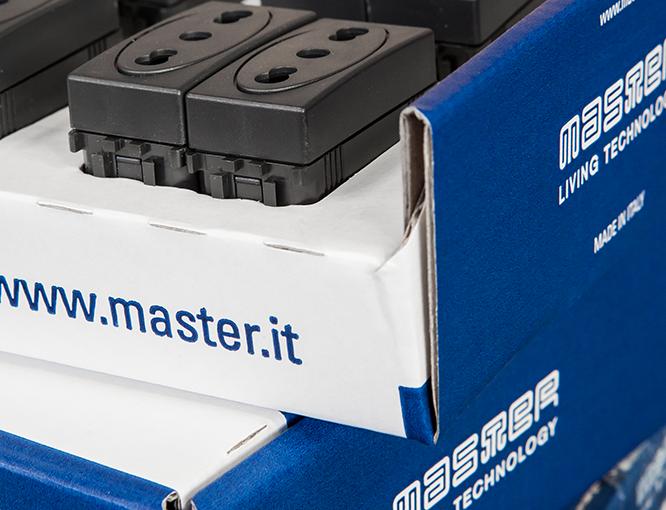 Esempi di applicazione dell'immagine aziendale: il packaging e gli imballaggi di Master